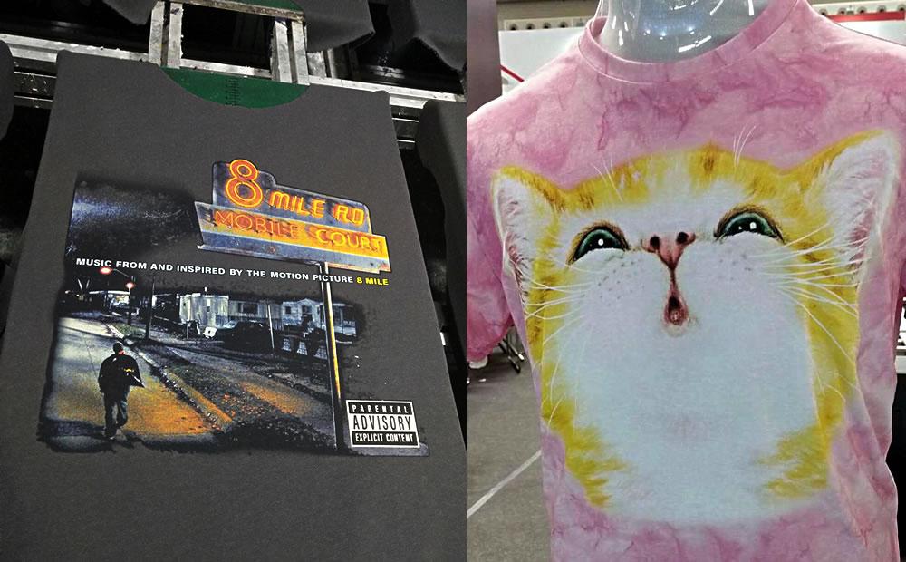 购买T恤数码印花机前必看!